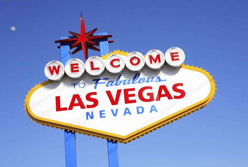 Las Vegas Sign Blue BG Optimized