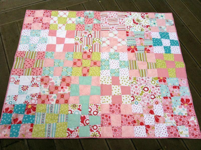 Crib quilt